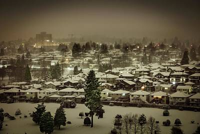 Photograph - Winter Night by Juan Contreras