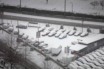 Photograph - Winter Parking by Juan Contreras
