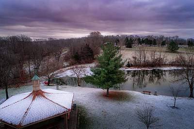 Photograph - Winter Pond by Nick Smith