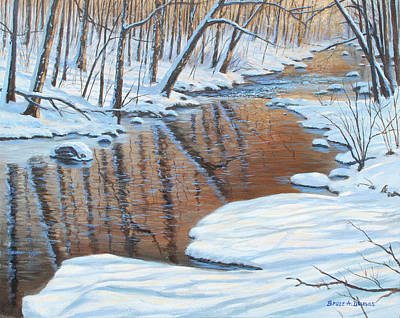 Painting - Winter Serenade by Bruce Dumas