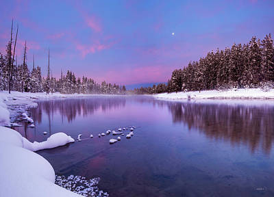 Photograph - Winter Silence And Beauty by Leland D Howard