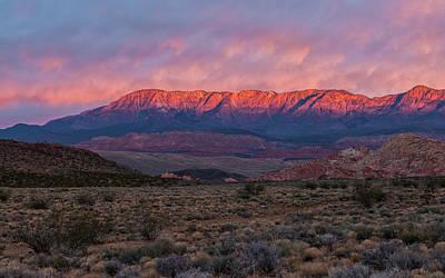 Photograph - Winter Solstice - Signal Peak, Utah by Loree Johnson