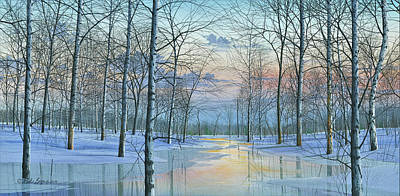 Painting - Winter Spectacle by Mike Brown