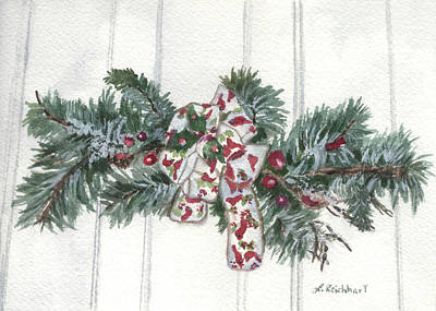 Painting - Winter Spray by Lynne Reichhart