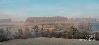 Photograph - Winter Sunrise Over St Oswald's Church by Tim Gainey