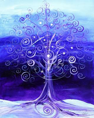 Painting - Winter Tree, One by J Vincent Scarpace