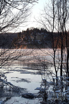 Photograph - Winter View Of The Rock by Paula Guttilla