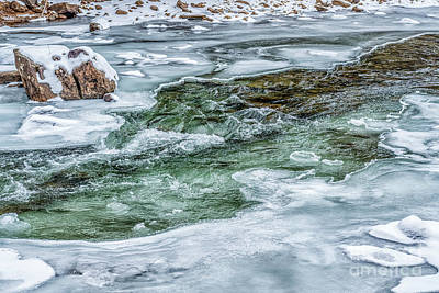 Photograph - Winter View Williams River by Thomas R Fletcher