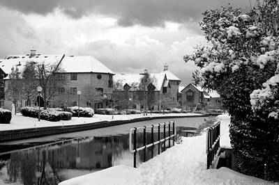 Photograph - Winter Walk By The River by Gill Billington