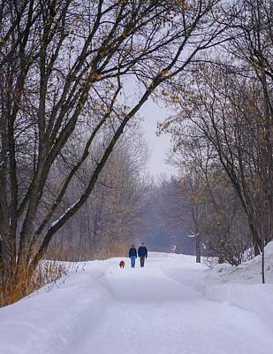 Photograph - Winter Walk by Susan Rydberg