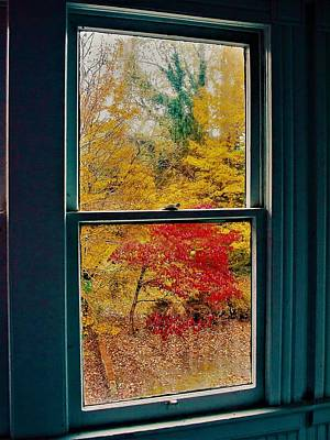 Photograph - Winter Window by Randy Sylvia