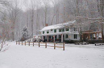 Photograph - Winter Wonderland At Valley Green by Bill Cannon
