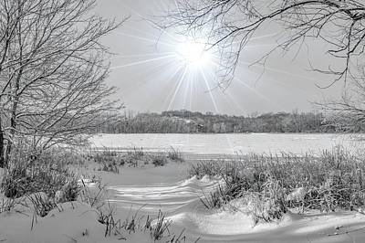 Photograph - Winter Wonderland At Purgatory Creek by Susan Rydberg
