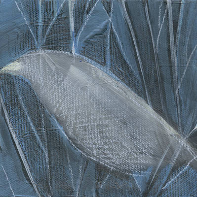 Painting - Winterbird3 by Tim Nyberg