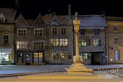Photograph - Winters Night In Stow by Tim Gainey