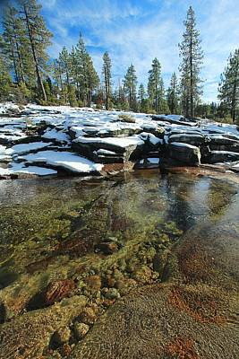 Photograph - Winter's Wondrous Waters by Sean Sarsfield