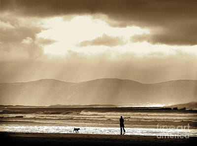 Photograph - Wintry Day Inch Strand by Pauline Christie