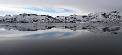 Photograph - Wintry Reflections by Marie Leslie
