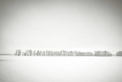 Photograph - Wintry Space. Horytsya, 2018. by Andriy Maykovskyi