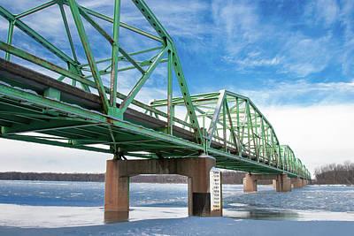 Photograph - Wisconsin River Bridge by Todd Klassy