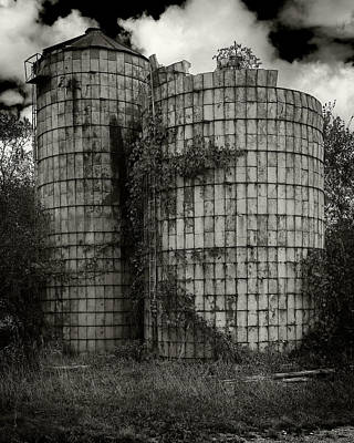 Photograph - Wisconsin Silo by Bud Simpson