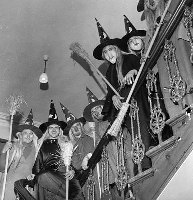 Photograph - Witches Convention by George Pickow