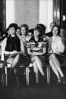 Photograph - Wives Of Pows At Convention Of League by Bill Ray