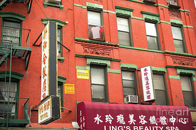 Photograph - Wo Hop Chinatown New York City by John Rizzuto