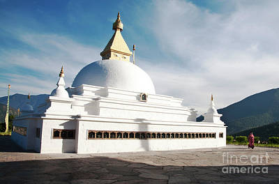 Photograph - Wolakha Chorten by Scott Kemper