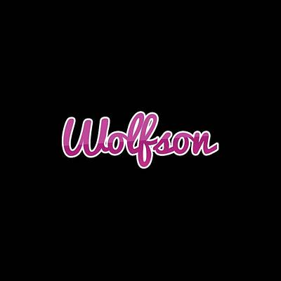 Digital Art - Wolfson #wolfson by TintoDesigns