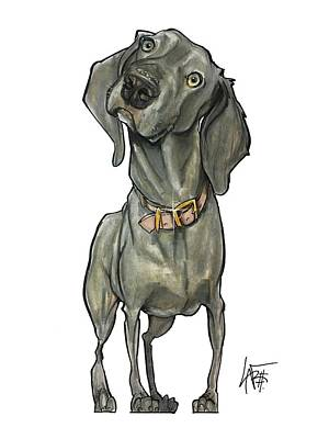 Drawing - Womack 4487 by John LaFree