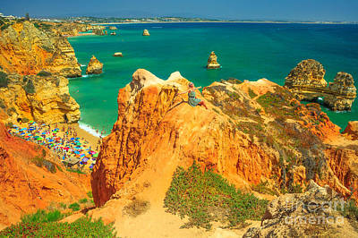 Photograph - Woman In Algarve by Benny Marty