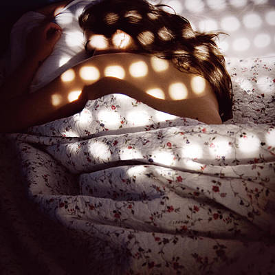 Photograph - Woman Lying In Bed by Www.anacuba.com