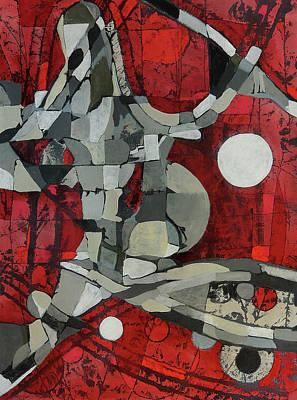 Painting - Woman Man Woman by Mark Jordan