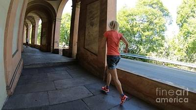 Photograph - Woman Running In Sportwear by Benny Marty