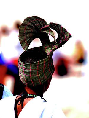 Photograph - Woman With Headdress by Jorg Becker