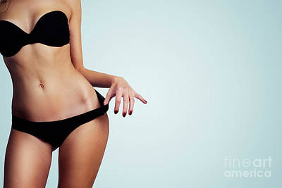 Sports Royalty-Free and Rights-Managed Images - Woman with perfect figure and skin.  by Jelena Jovanovic