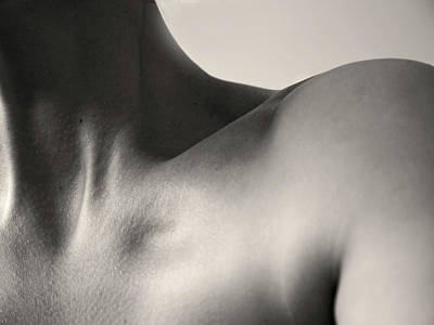 Photograph - Womans Neck by Abigail Steed