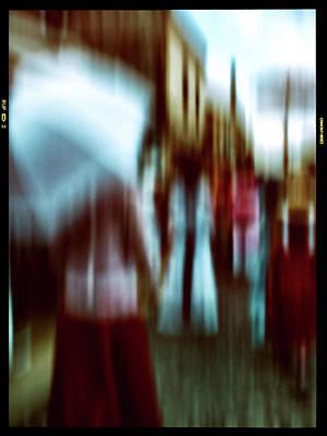 Photograph - Womans Walk by Jorg Becker