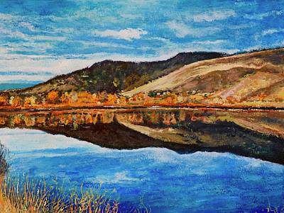 Painting - Wonderland Lake by Tom Roderick
