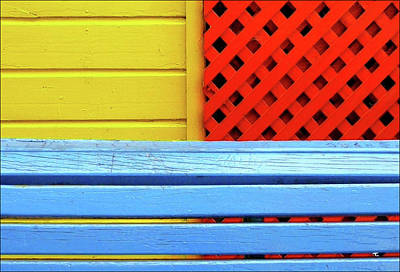 Photograph - Wood And Colors by By Felicitas Molina