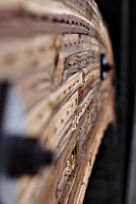 Photograph - Wood Arch by Will Campbell