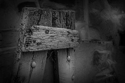 Photograph - Wood Rustic Character by Bill Posner