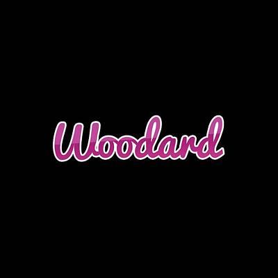 Digital Art - Woodard #woodard by Tinto Designs