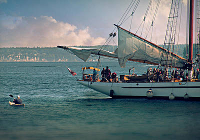 Photograph - Wooden Boat Festival by Micki Findlay
