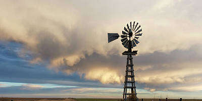 Photograph - Wooden Windmill 02 by Rob Graham