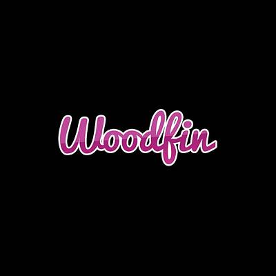 Digital Art - Woodfin #woodfin by Tinto Designs