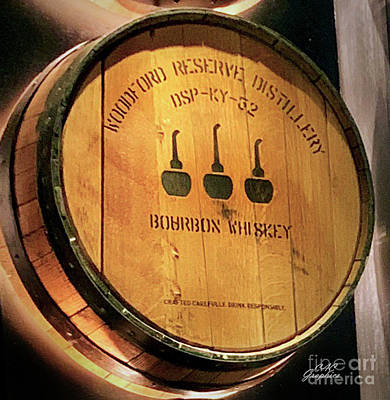 Photograph - Woodford Reserve Barrel by CAC Graphics