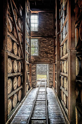 Wilderness Camping - Woodford Reserve Rickhouse  by Susan Rissi Tregoning