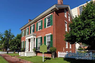 Photograph - Woodrow Wilson Boyhood Home - Augusta Ga 2 by Sanjeev Singhal